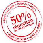 Logo réduction d'impôts